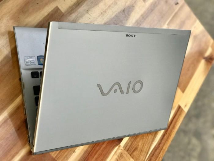 Laptop Sony Vaio Ultrabook SVT13, I5 3317U 4G SSD128 13inch Giá rẻ0
