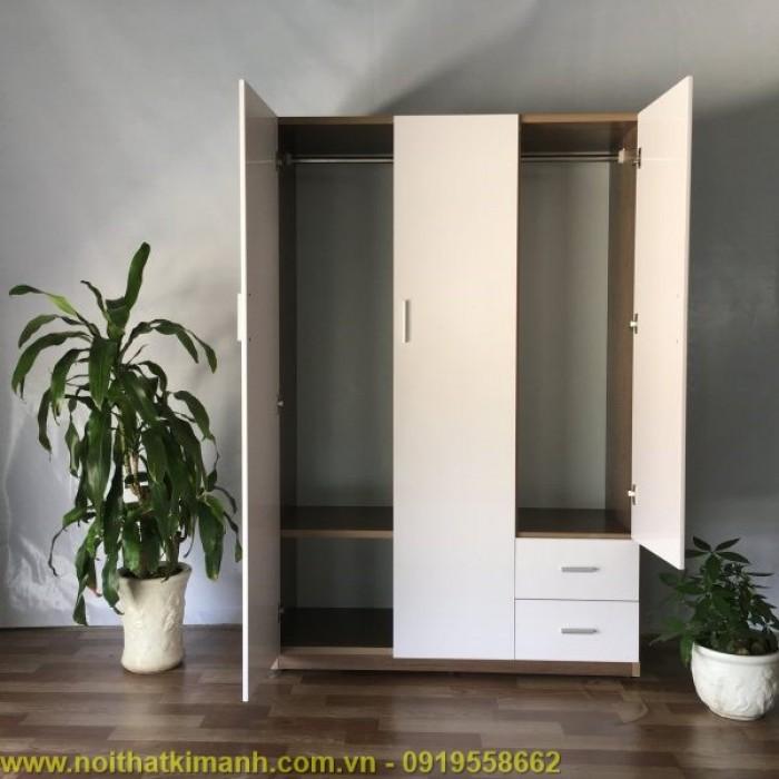 Mâu tủ áo gỗ công nghiệp MDF / MFC đẹp , tủ áo 4 cánh 1m8 giá rẻ tại TPHCM8