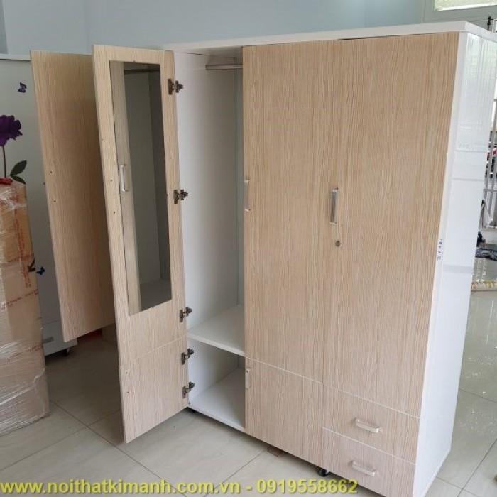 Mẫu tủ quần áo gỗ đẹp15