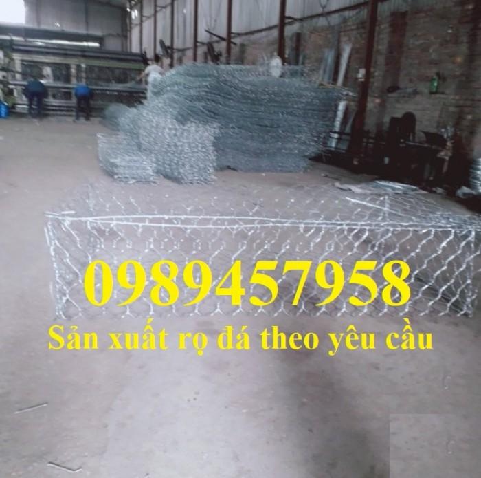 Sản xuất Thảm đá #Rọ đá kè đường bọc nhựa và mạ kẽm giá rẻ2
