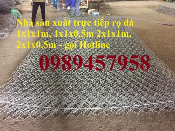 Sản xuất Thảm đá #Rọ đá kè đường bọc nhựa và mạ kẽm giá rẻ3