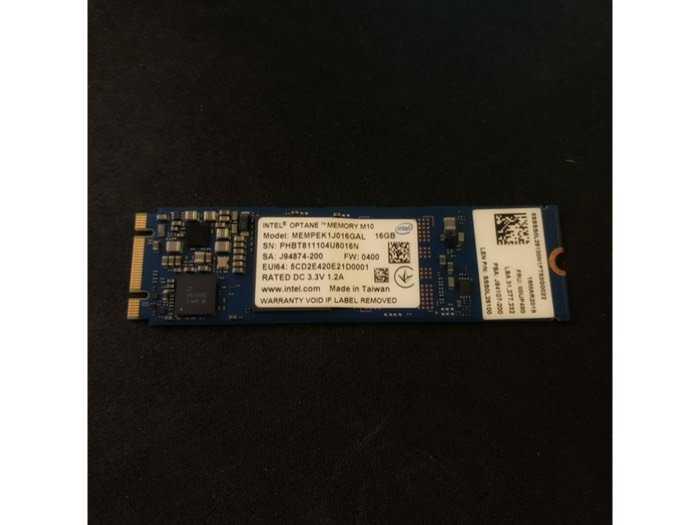 SSD Intel Optane 16G _ Biến HDD Thành SSD _ Laptop PC Đời 8,9,10...0