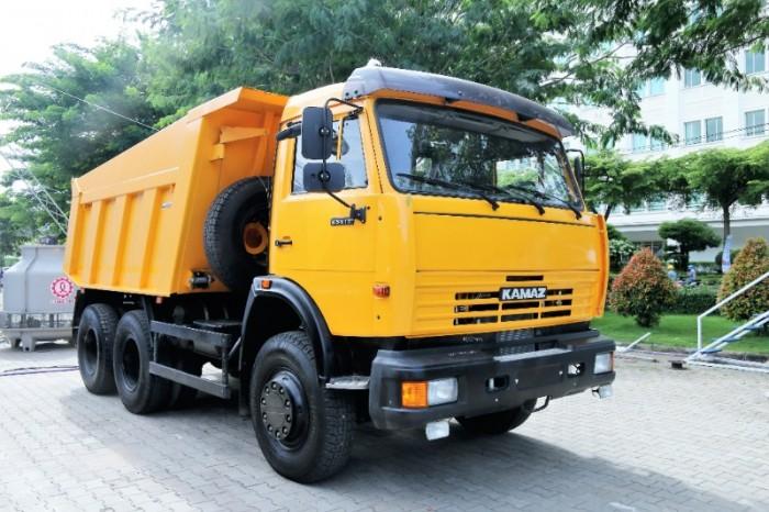 Xe ben Kamaz 15 tấn| Kamaz 65115 Thùng 10m3 nhập khẩu
