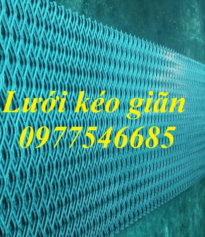 Lưới hình trám, lưới thép dập giãn, lưới thép hình thoi hàng có sẵn3