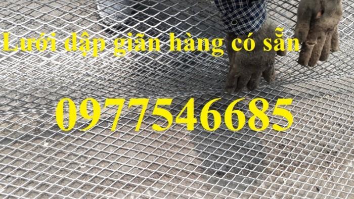 Lưới hình trám, lưới thép dập giãn, lưới thép hình thoi hàng có sẵn5