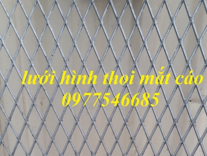 Lưới hình trám, lưới thép dập giãn, lưới thép hình thoi hàng có sẵn7