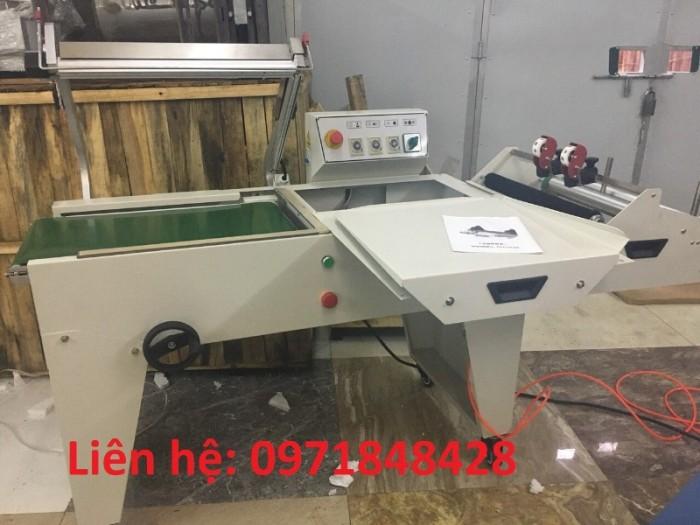 Máy cắt dán màng co tự động, máy cắt dán màng bọc, máy đóng gói màng co hộp, đồ dùng2