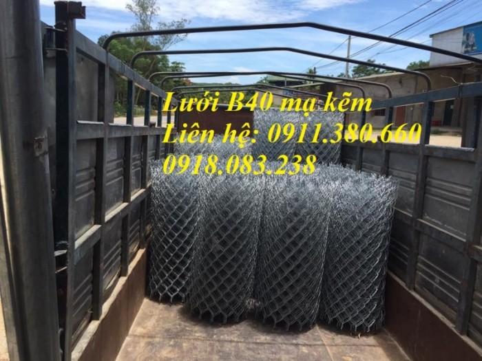 Lưới Thép B40 Mạ Kẽm Ô 60X60. Khổ 1M X 15M/ Cuộn0
