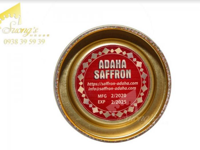 Trà nhụy hoa nghệ tây Iran 2gr-Saffron Iran check mã truy xuất nguồn gốc nhụy hoa nghệ tây 2