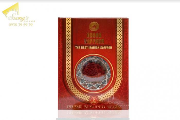 Trà nhụy hoa nghệ tây Iran 2gr-Saffron Iran check mã truy xuất nguồn gốc nhụy hoa nghệ tây 6