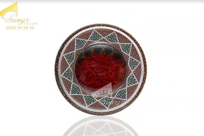 Trà nhụy hoa nghệ tây Iran 2gr-Saffron Iran check mã truy xuất nguồn gốc nhụy hoa nghệ tây 8