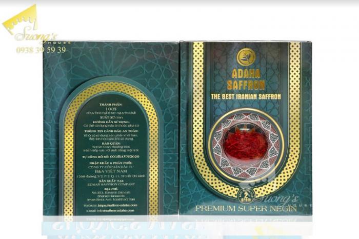 Trà nhụy hoa nghệ tây Iran 2gr-Saffron Iran check mã truy xuất nguồn gốc nhụy hoa nghệ tây 15