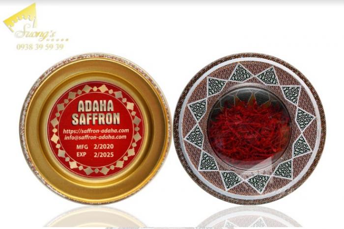 Trà nhụy hoa nghệ tây Iran 2gr-Saffron Iran check mã truy xuất nguồn gốc nhụy hoa nghệ tây 11