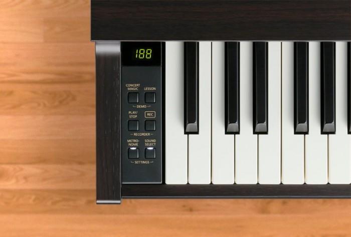 Các nút điều khiển của Đàn Piano Kawai CA 48 Like New - Khát Vọng Music
