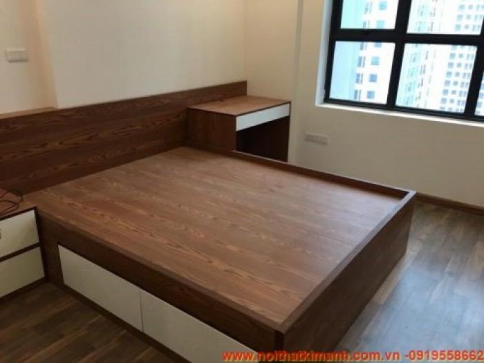 Các mẫu giường gỗ công nghiệp đẹp4