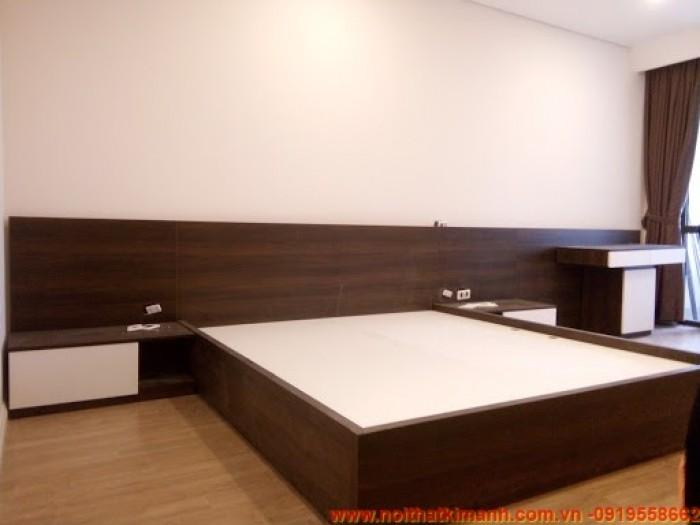 Mẫu giường gỗ An Cường9