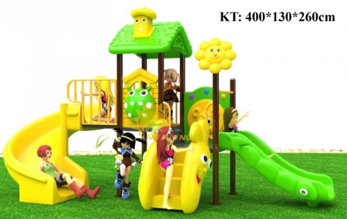 Cầu trượt liên hoàn mầm non dành cho trẻ em giá rẻ, chất lượng cao8