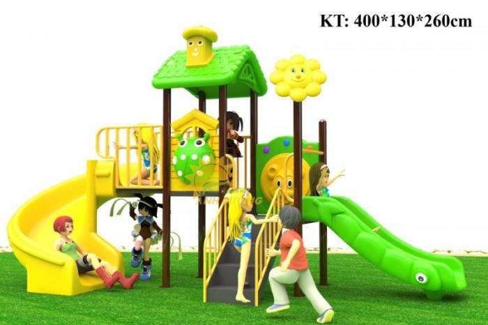 Cầu trượt liên hoàn mầm non dành cho trẻ em giá rẻ, chất lượng cao12