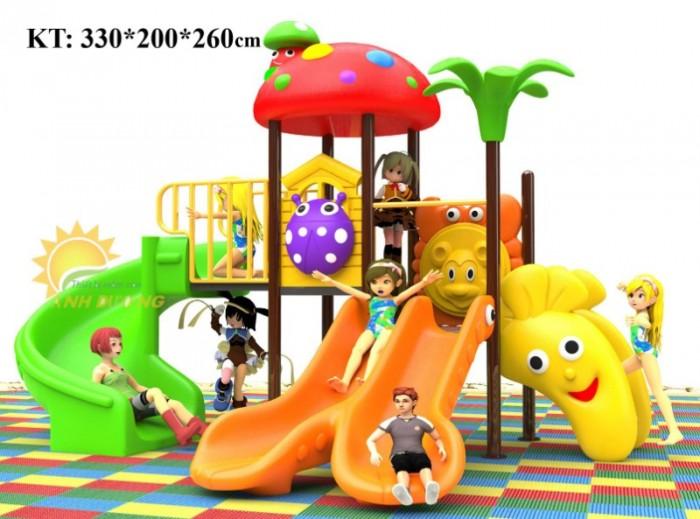 Cầu trượt liên hoàn mầm non dành cho trẻ em giá rẻ, chất lượng cao13