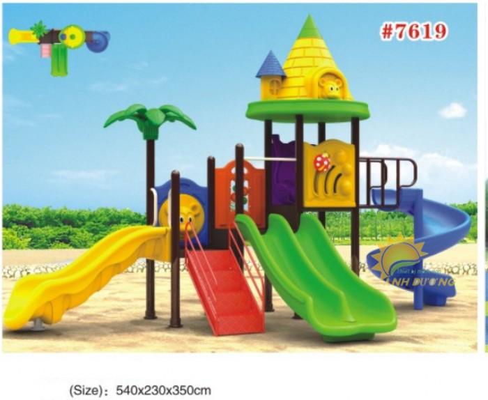 Cầu trượt liên hoàn mầm non dành cho trẻ em giá rẻ, chất lượng cao28