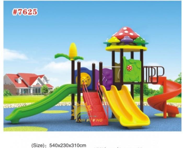 Cầu trượt liên hoàn mầm non dành cho trẻ em giá rẻ, chất lượng cao23