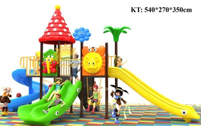 Cầu trượt liên hoàn mầm non dành cho trẻ em giá rẻ, chất lượng cao27