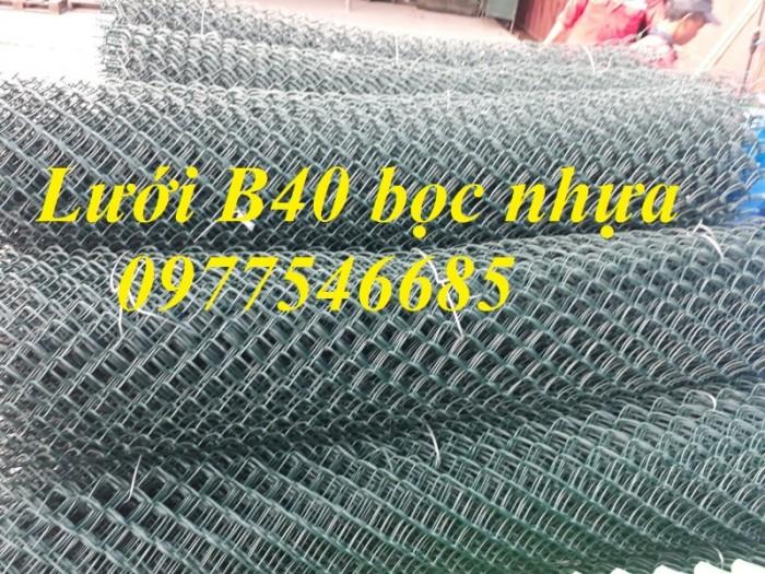 Lưới thép b40 ,lưới thép b40 bọc nhựa sản xuất theo yêu cầu.0