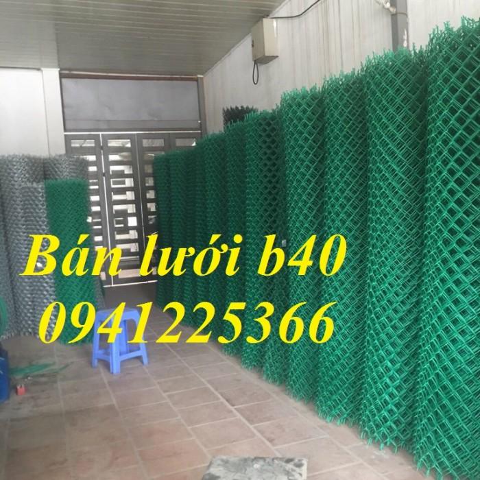 Lưới thép b40 ,lưới thép b40 bọc nhựa sản xuất theo yêu cầu.4