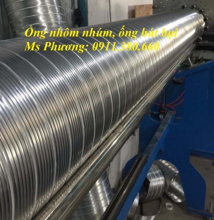 Ống nhôm nhún, ống dẫn khí nóng hàng có sẵn tại kho3