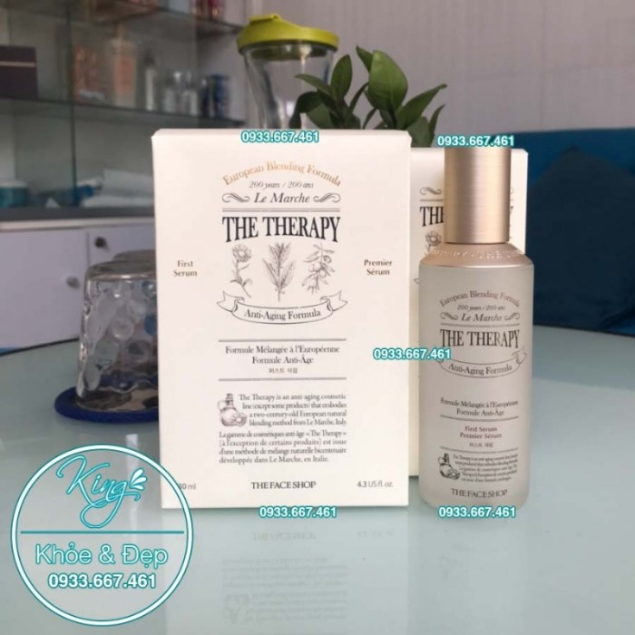 Tinh Chất THE THERAPY First Serum2