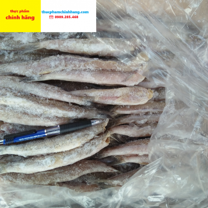 Cá bống đông lạnh cắt bỏ đầu0