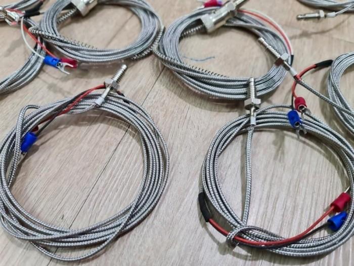 Dây dò nhiệt loại K 2*0.5 ra dây 2M gắn khoen cài M10,M122