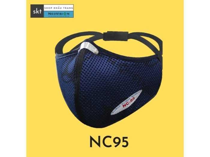 khẩu trang NC95 neovision than hoạt tính0