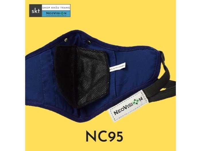 khẩu trang NC95 neovision than hoạt tính2