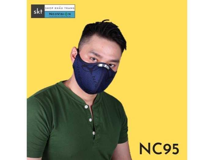 khẩu trang NC95 neovision than hoạt tính3