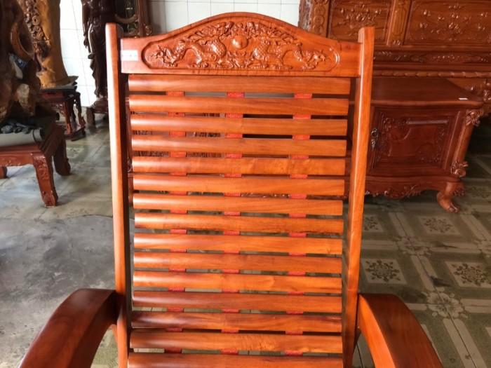 Ghế lười gỗ căm xe1