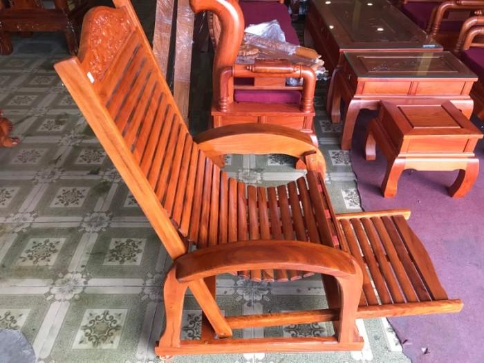 Ghế lười gỗ căm xe2