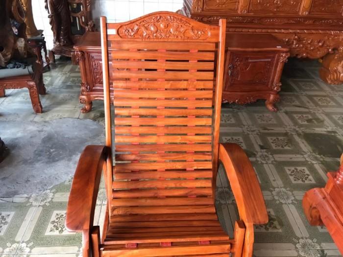 Ghế lười gỗ căm xe4