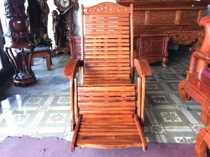 Ghế lười gỗ căm xe3