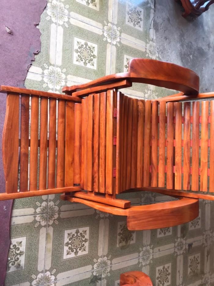 Ghế lười gỗ căm xe6