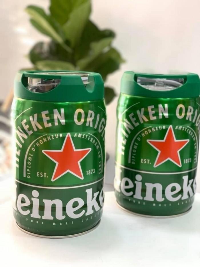Bia Heineken Bom 5L, 500.000đ.