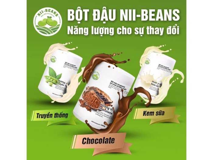 bột đậu tăng cân niibeans2