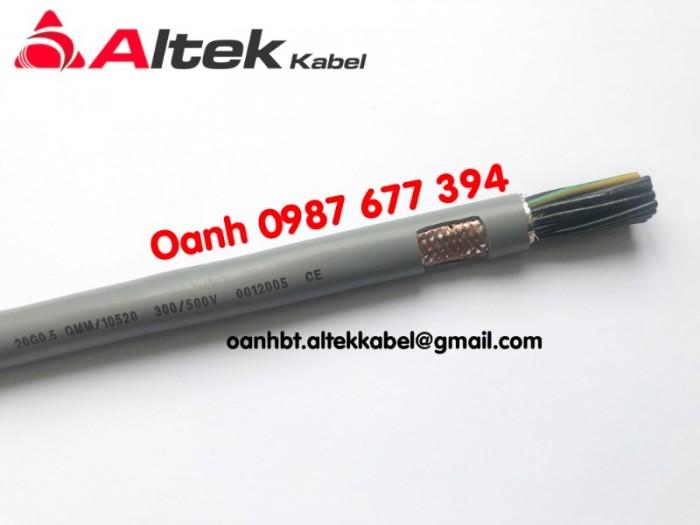 Cáp điều khiển chống nhiễu, không chống nhiễu 0,5mm giá sỉ3