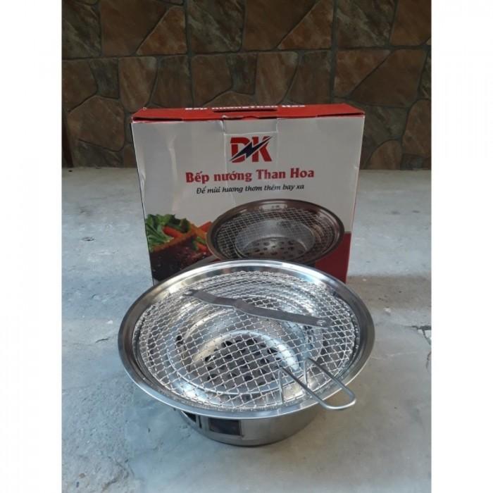 Bếp nướng than hoa âm bàn chất liệu inox cao cấp cho quán nướng than hoa1