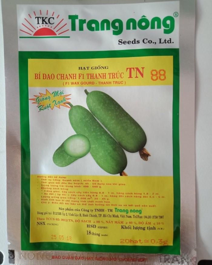 Hạt giống bí đao chanh Trang Nông0