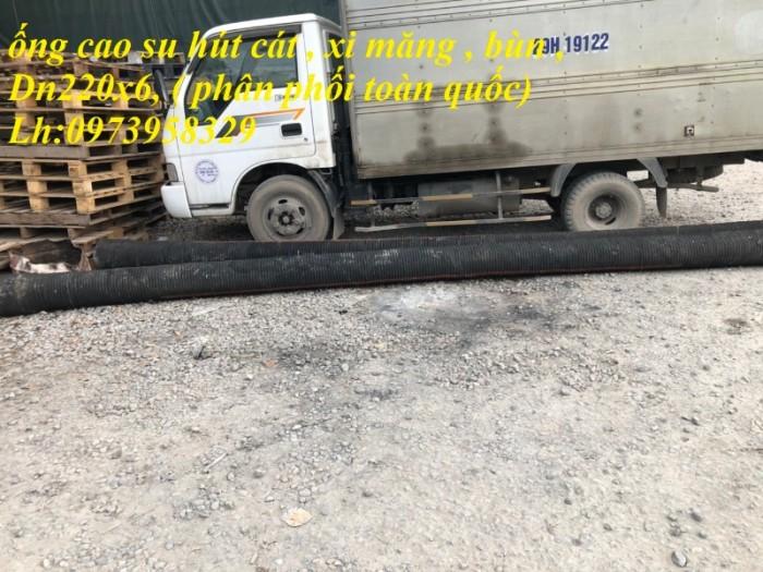 ống cao su hút cát D220 ( 6 mét/ 1 sợi ) , hàng việt nam chất lượng cáo0