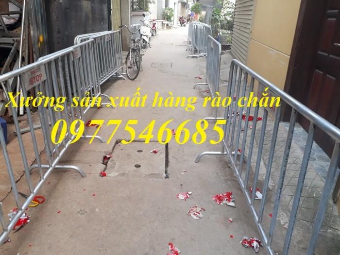 Hàng rào chắn giao thông - Khung hàng rào di chuyển1