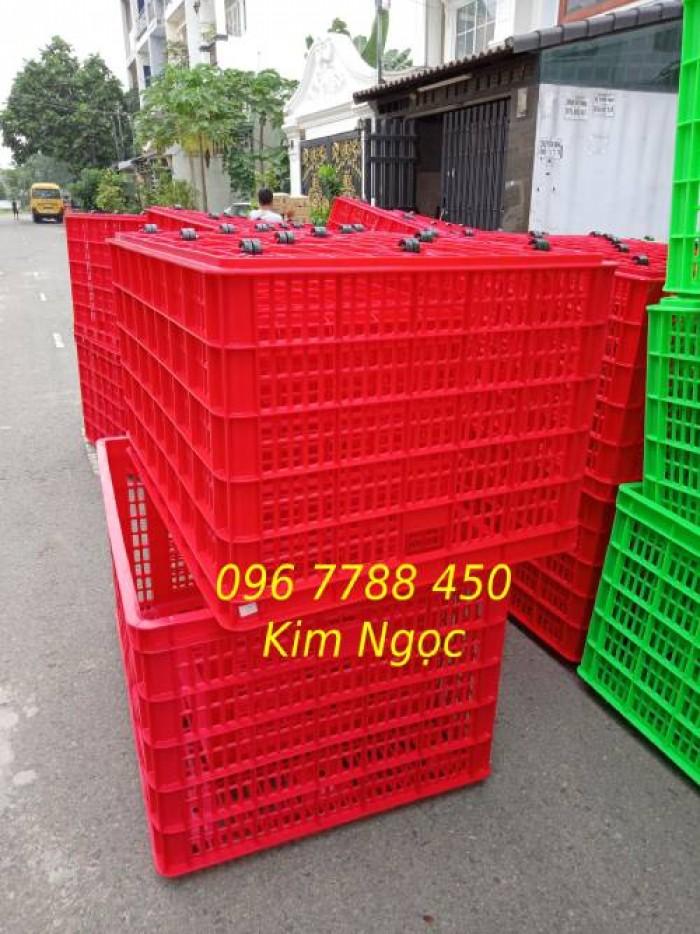 Rổ nhựa 5 bánh xe đựng hàng hóa2