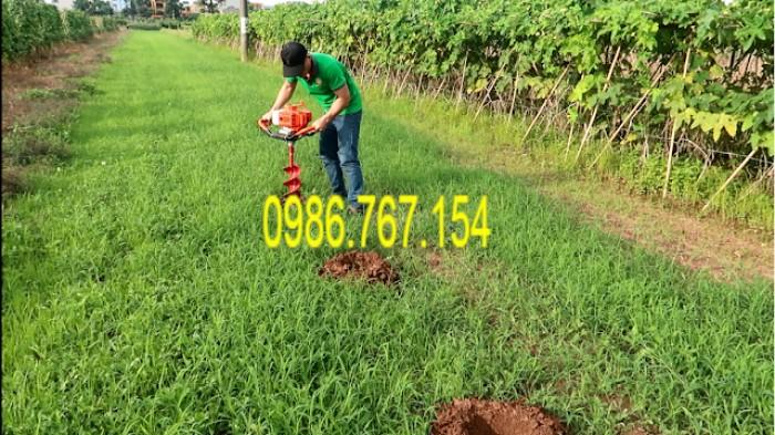 Máy khoan đất trồng cây 2 tay cầm1