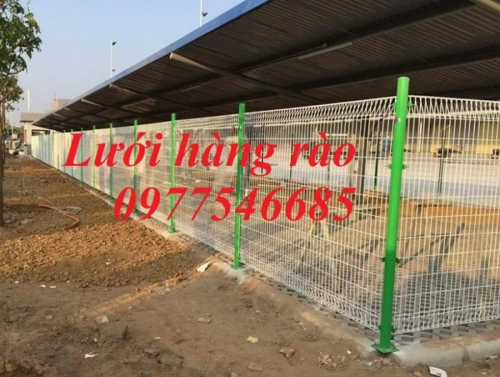 Hàng rào lưới thép hàn, hàng rào mạ kẽm1
